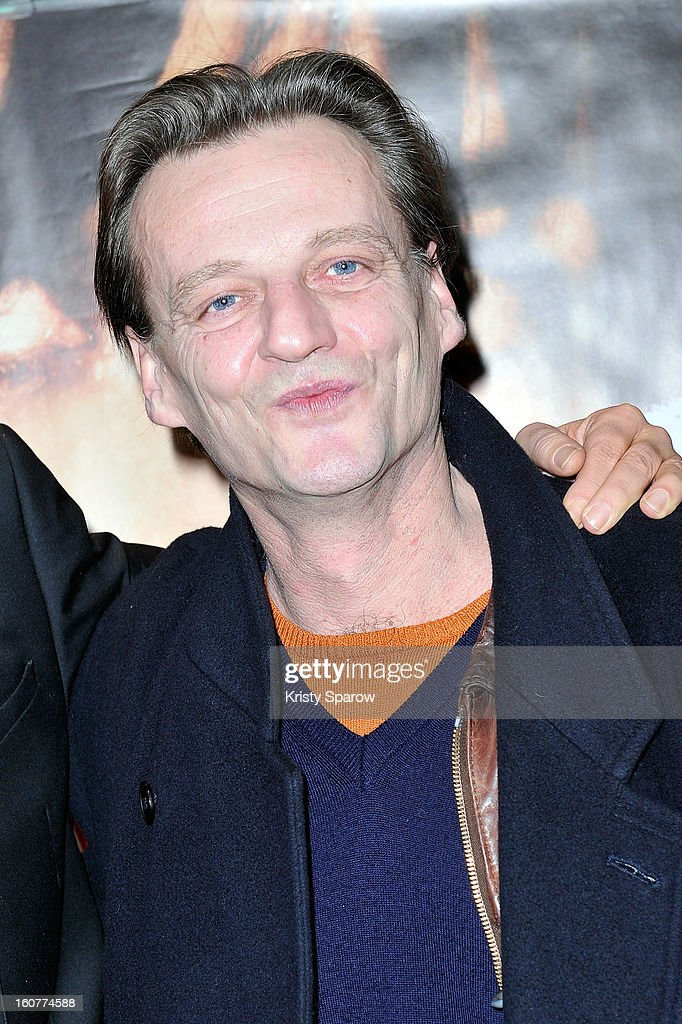 Marc Barbe attends the 'Arretez Moi' Paris Premiere at the UGC Cine Cite des Halles on February 5, 2013 in Paris, France.