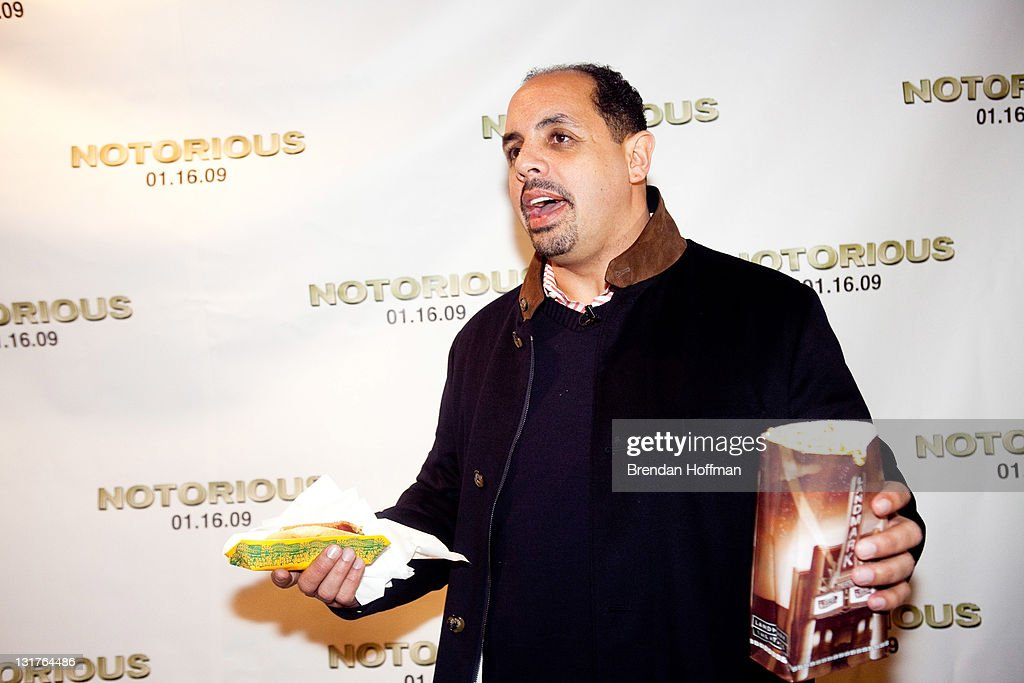 Marc Barnes, owner of the Washington nightclub Love, attends a screening of 'Notorious' January 13, 2009 in Washington, DC. The film, to be released January 16, is about the life of hip-hop artist Notorious B