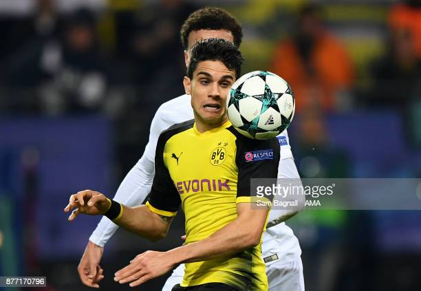 Marc Bartra of Borussia Dortmund during the UEFA Champions League group H match between Borussia Dortmund and Tottenham Hotspur at Signal Iduna Park...