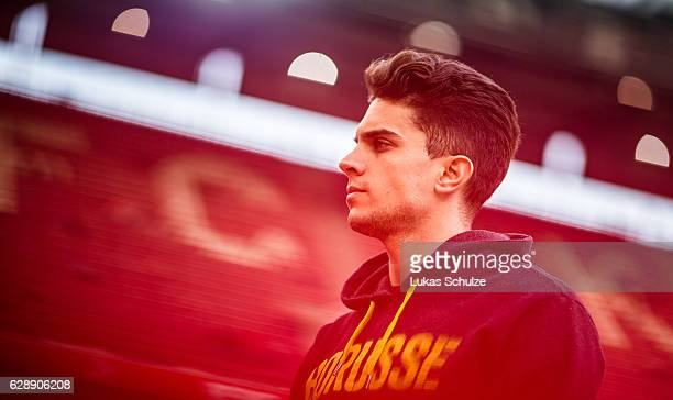 Marc Bartra of Dortmund arrives prior to the Bundesliga match between 1 FC Koeln and Borussia Dortmund at RheinEnergieStadion on December 10 2016 in...