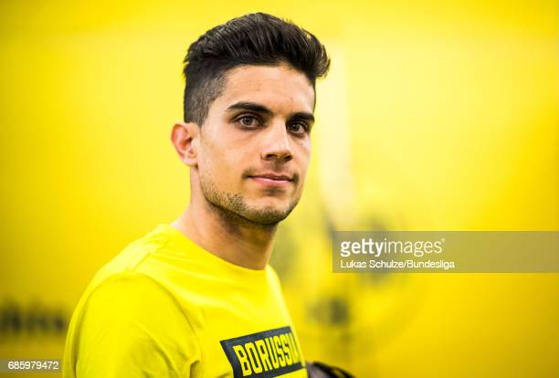 Marc Bartra of Dortmund arrives prior to the Bundesliga match between Borussia Dortmund and Werder Bremen at Signal Iduna Park on May 20 2017 in...