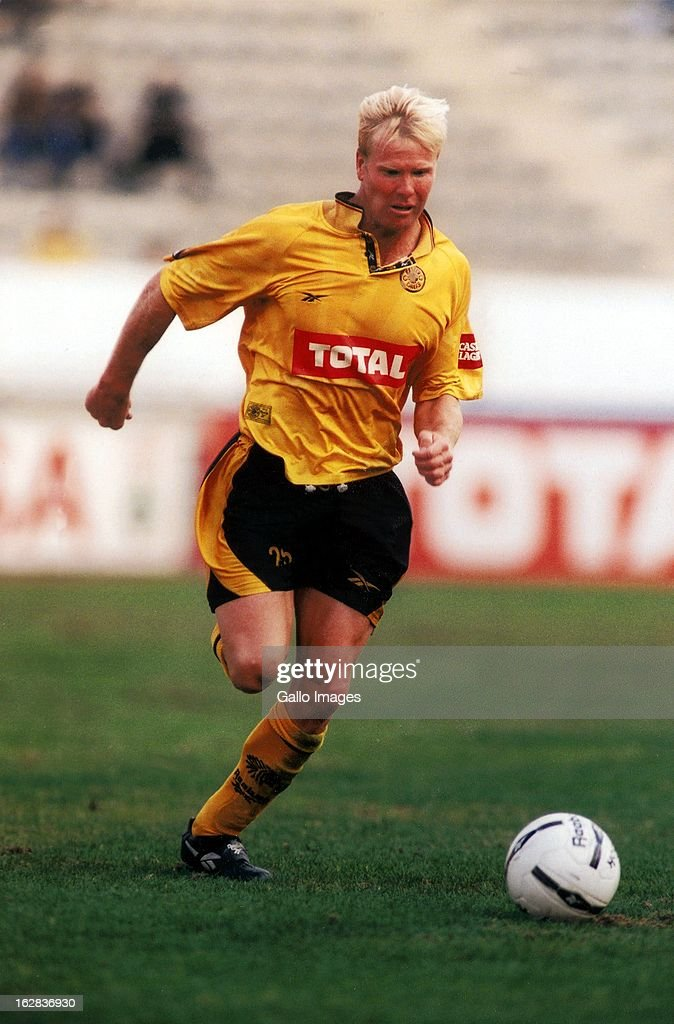 Marc Batchelor plays for Kaizer Chiefs in the PSL 97/98.