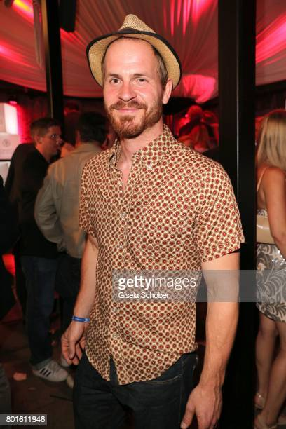 MUNICH GERMANY JUNE 26 Marc Benjamin Puch during the Movie meets Media Party during the Munich Film Festival on June 26 2017 in Munich Germany