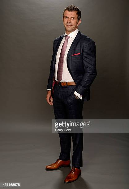 Marc Bergevin General Manager of the Montreal Canadiens poses for a portrait during the 2014 NHL Awards at Encore Las Vegas on June 24 2014 in Las...