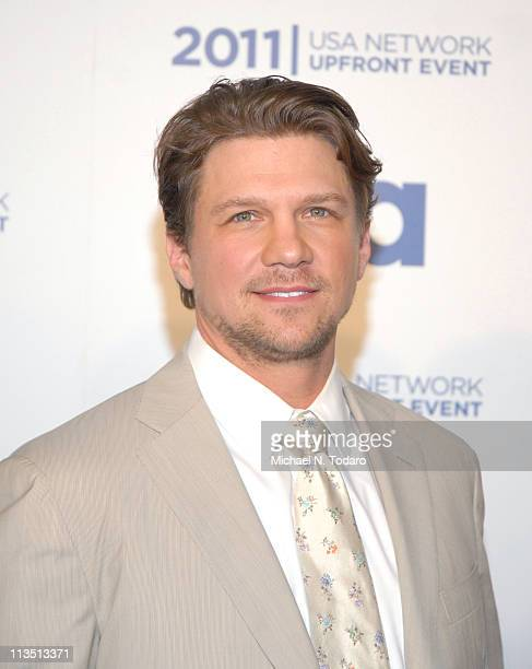 Marc Blucas attends the 2011 USA Upfront at The Tent at Lincoln Center on May 2 2011 in New York City