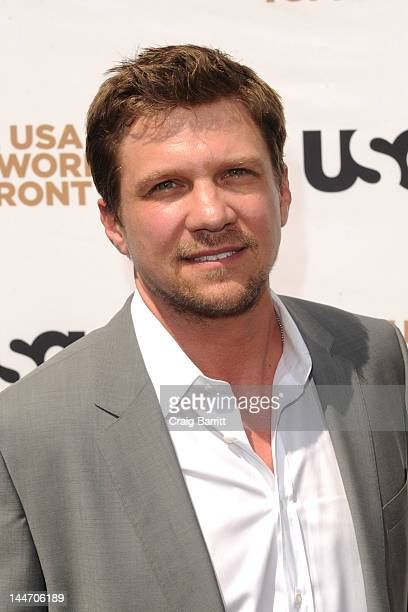 Marc Blucas attends the USA Network's 2012 Upfront Event at Alice Tully Hall on May 17 2012 in New York City