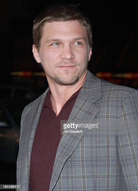 Marc Blucas during 'Friday Night Lights' World Premiere at Grauman's Chinese Theatre in Hollywood California United States