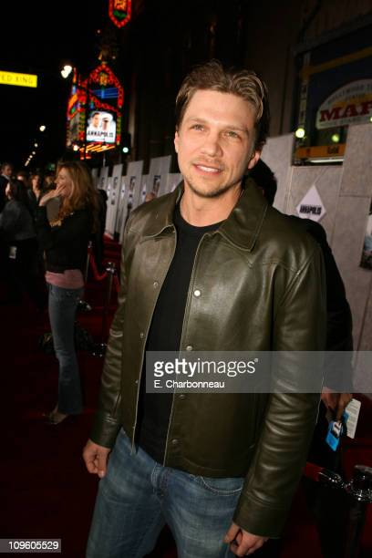 Marc Blucas during Los Angeles Premiere of Touchstone Pictures' 'Annapolis' to benefit the Scholarship Fund of CSSSA at El Capitan Theatre in...