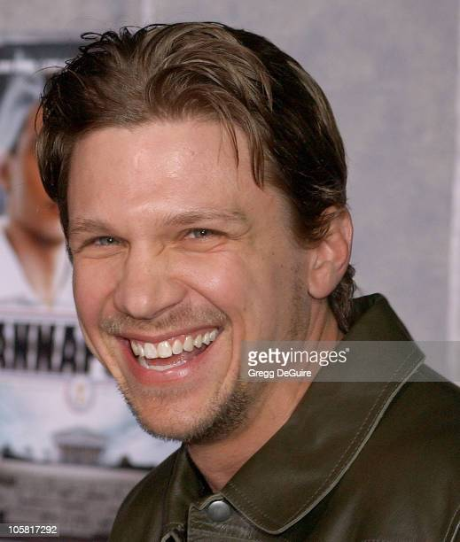 Marc Blucas during Touchstone Pictures' 'Annapolis' World Premiere Arrivals at El Capitan Theatre in Hollywood California United States