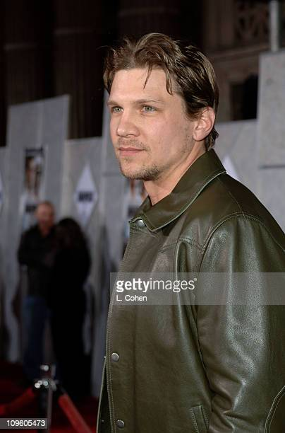 Marc Blucas during Touchstone Pictures' 'Annapolis' World Premiere Red Carpet at El Capitan Theatre in Hollywood California United States