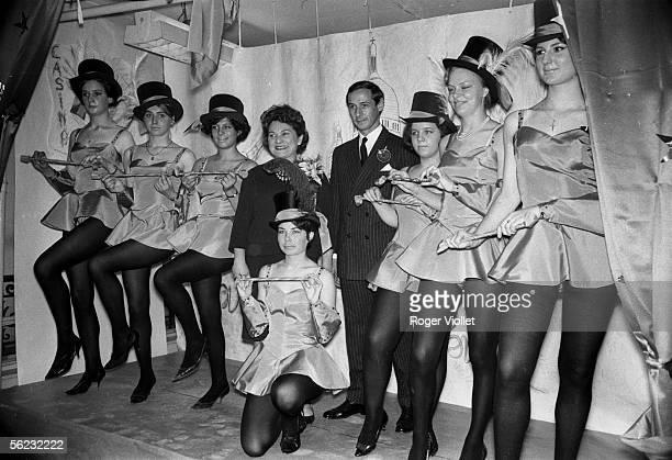 Marc Bohan French couturier and 'catherinettes' at Christian Dior Paris HA15268