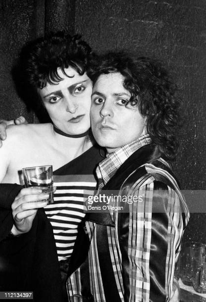 Marc Bolan and Siouxsie Sioux at Music Machine in London 1976
