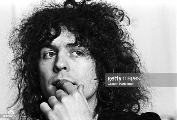 Marc Bolan from TRex posed in London in 1972