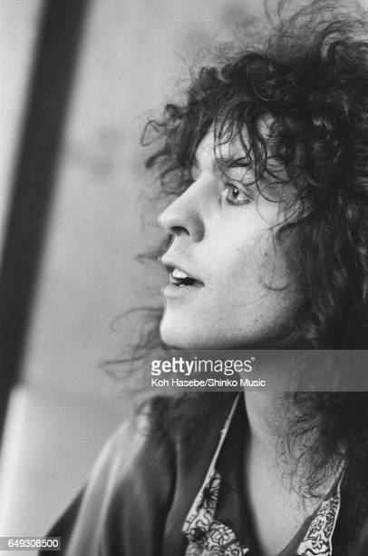 Marc Bolan of T Rex at a hotel in Tokyo November 1973
