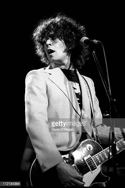 Marc Bolan performs at Wembley Arena 1977