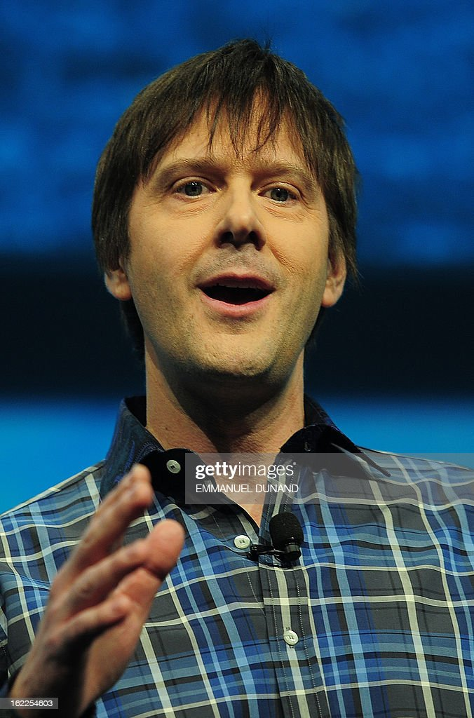 Marc Cerny, lead architect of PlaySation 4, introduces the PlayStation 4 at a news conference February 20, 2013 in New York.