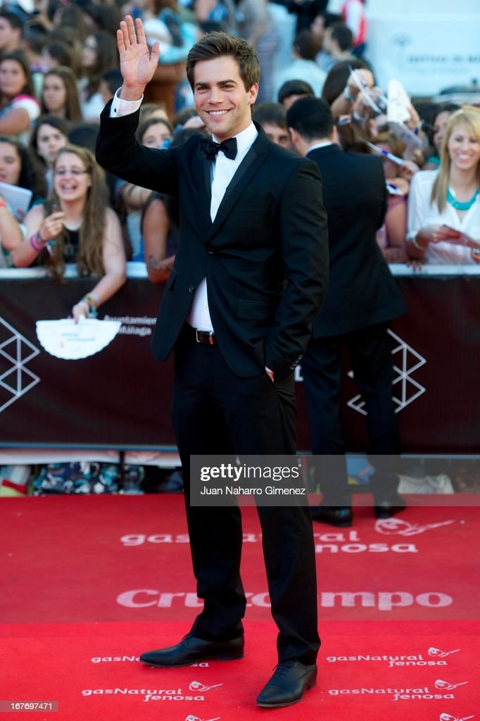 Marc Clotet attends 16 Malaga Film Festival ceremony at Teatro Cervantes on April 27, 2013 in Malaga, Spain.