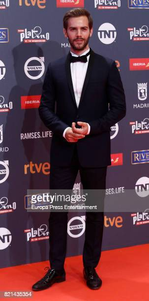Marc Clotet attends Platino Awards 2017 at La Caja Magica on July 22 2017 in Madrid Spain