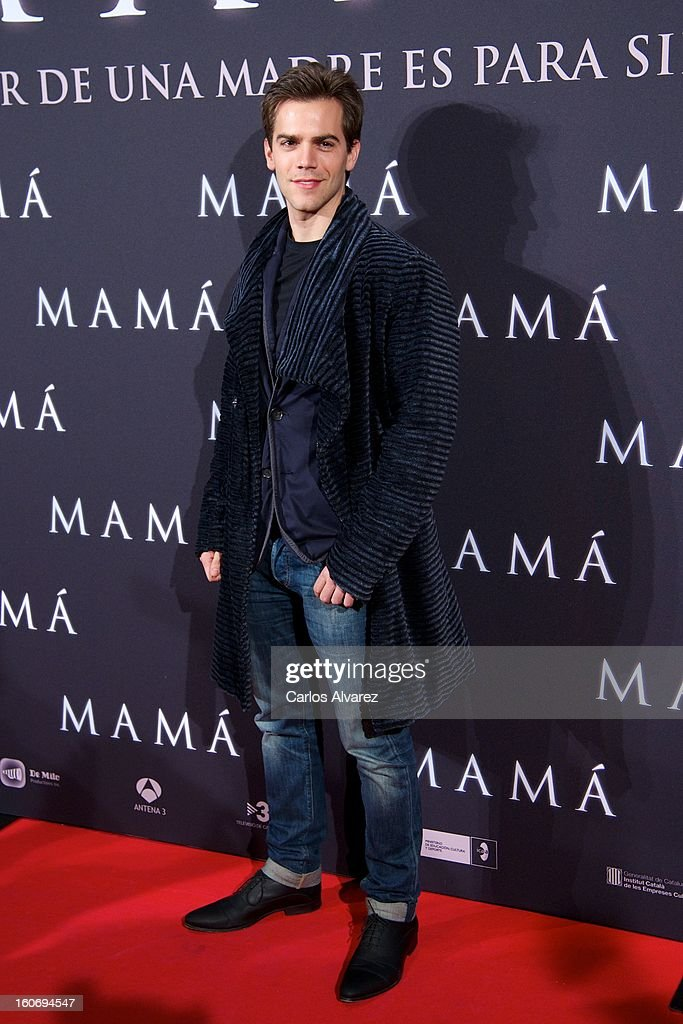 Marc Clotet attends the 'Mama' premiere at the Callao cinema on February 4, 2013 in Madrid, Spain.