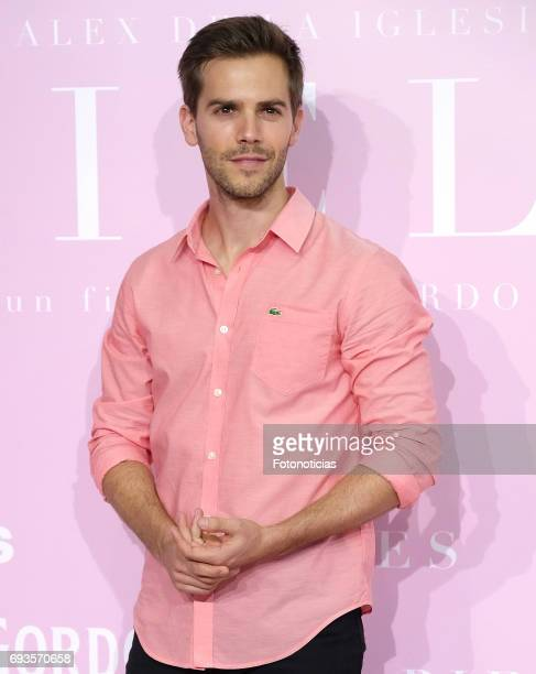 Marc Clotet attends the 'Pieles' premiere pink carpet at Capitol cinema on June 7 2017 in Madrid Spain
