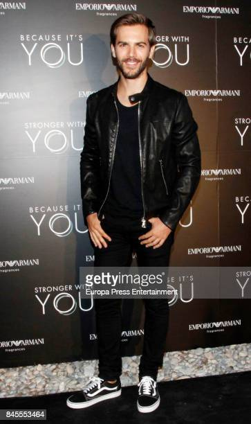 Marc Clotet attends the presentation of the new Emporio Armani's fragances 'Stronger with you' and 'Because it's you' on September 9 2017 in Ibiza...