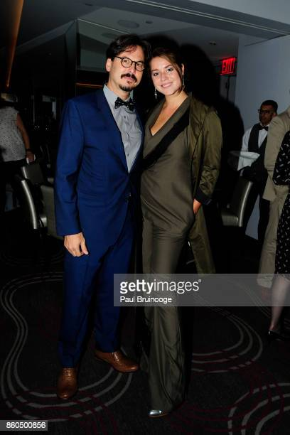Marc Dennis and Zaria Borisova attend the Decoration and Design Building celebrates the 2017 winners of the DDB's 10th Anniversary of Stars of Design...