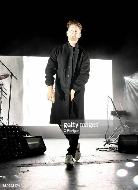 Marc E Bassy performs during the 2017 Bebe Bassy Tour at The Regency San Francisco on October 18 2017 in San Francisco California