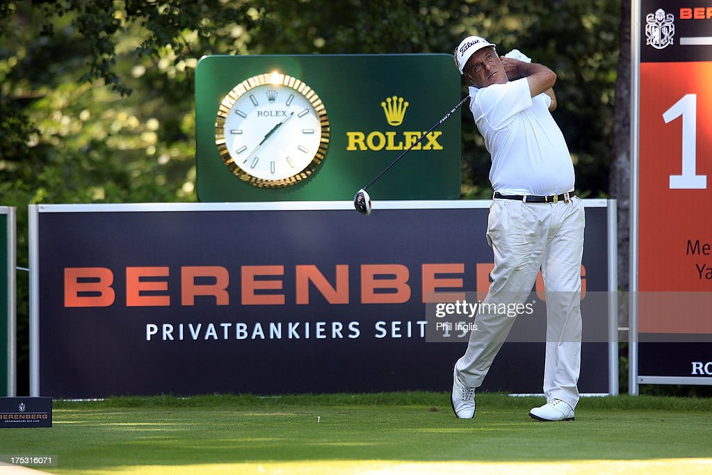 Marc Farry of France in action during the first round of the Berenberg Bank Masters played at Golf- Und Land-Club Koln on August 2, 2013 in Cologne, Germany.