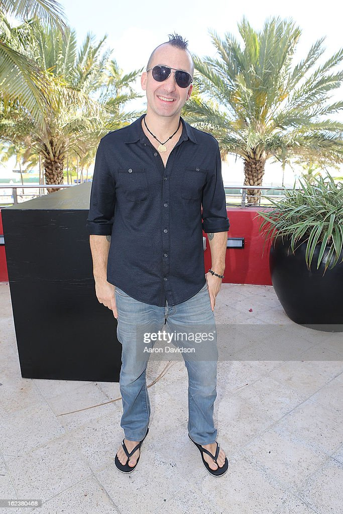 Marc Forgione attends What It Takes To Be An Iron Chef at Hotel Victor on February 22, 2013 in Miami Beach, Florida.