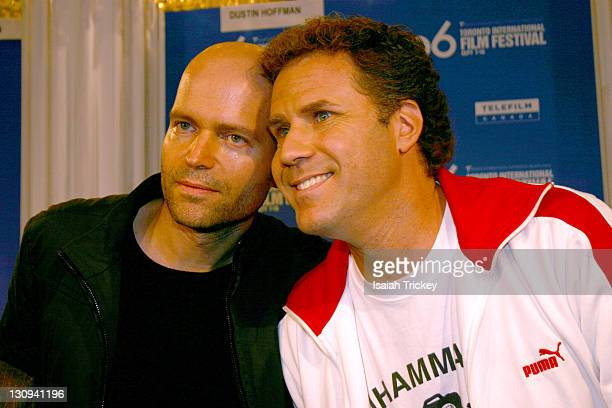 Marc Forster and Will Ferrell during 31st Annual Toronto International Film Festival 'Stranger Than Fiction' Press Conference at Sutton Place Hotel...
