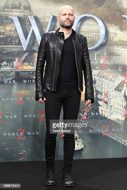 Marc Forster attends 'WORLD WAR Z' Germany Premiere at Sony Centre on June 4 2013 in Berlin Germany