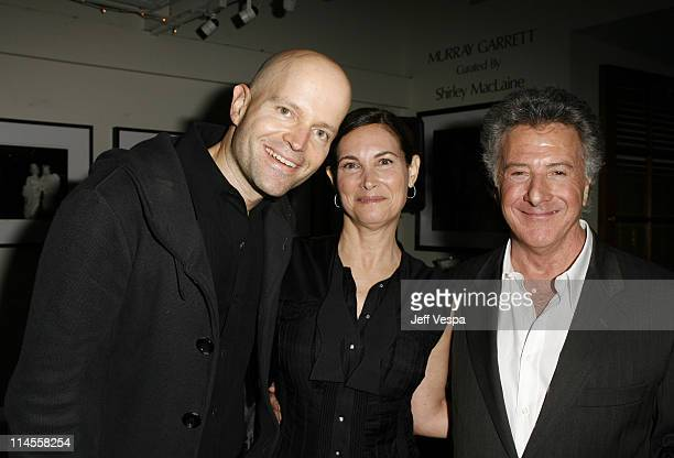 Marc Forster Lisa Hoffman and Dustin Hoffman during Lisa Hoffman Launches her Night and Day 24 Hour Skincare Line Inside at APOTHIA at Fred Segal in...