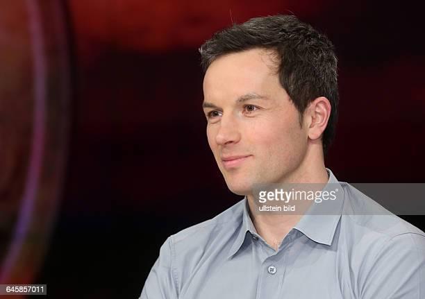 Marc Friedrich in der ZDFTalkshow 'Maybrit_Illner' am in BerlinThema der Sendung Athen gegen alle Scheitert der Euro