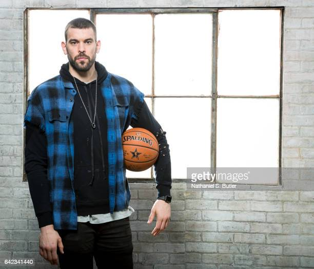 Marc Gasol of the Memphis Grizzlies poses for a photo during the 2017 AllStar Media Circuit at the Ritz Carlton in New Orleans Louisiana NOTE TO USER...