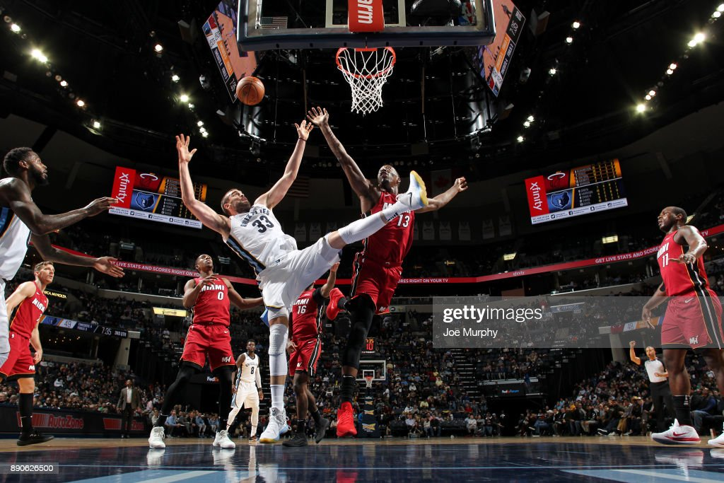 Miami Heat v Memphis Grizzlies