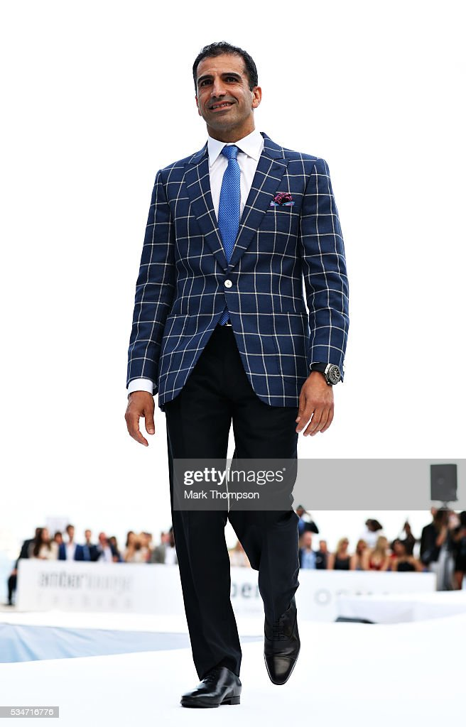 <a gi-track='captionPersonalityLinkClicked' href=/galleries/search?phrase=Marc+Gene&family=editorial&specificpeople=217824 ng-click='$event.stopPropagation()'>Marc Gene</a> walks the catwalk at the Amber Lounge fashion show during previews to the Monaco Formula One Grand Prix at Circuit de Monaco on May 27, 2016 in Monte-Carlo, Monaco.