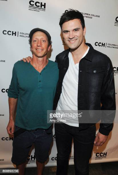 Marc Gordon and Kash Hovey attend the 'Jack And Cocaine' Screening At The Valley Film Festival at Columbia College Hollywood on October 7 2017 in Los...
