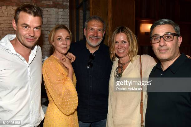 Marc Hom MarieLouise Hom John Retuer Manon Retuer and Jason Weinberg attend eBay Hosts July 4th Benefit for Sag Harbor Cinema Restoration Project at...