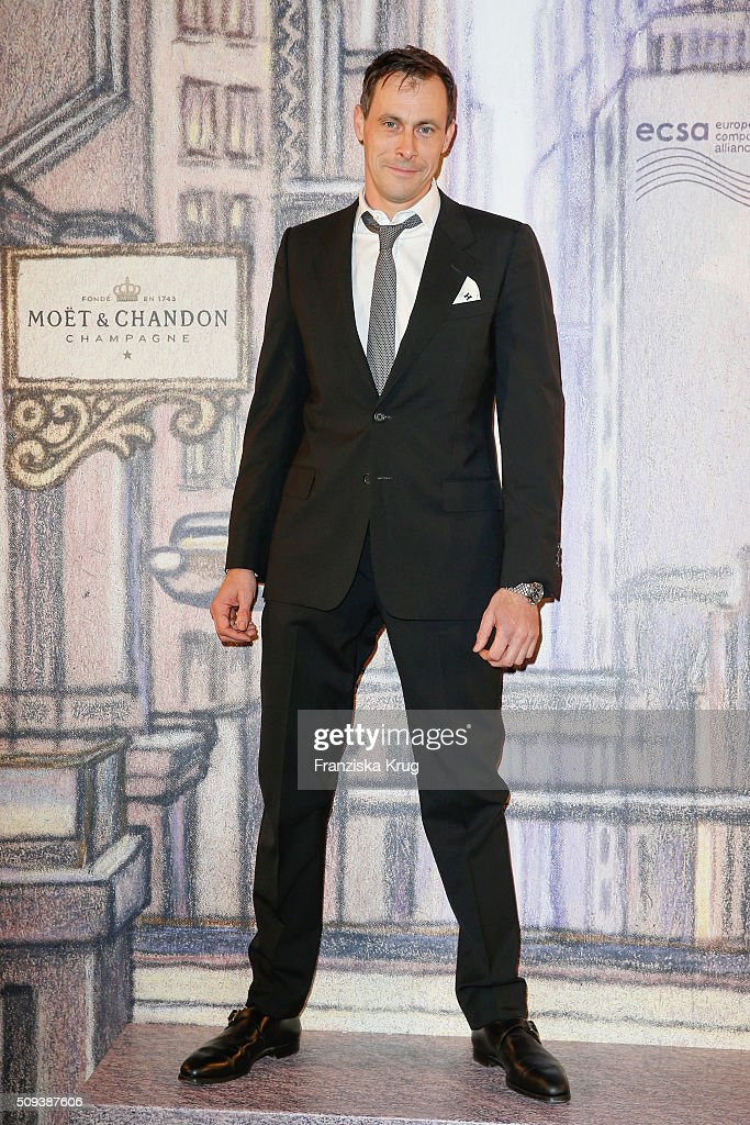 Marc Hosemann attends the Moet & Chandon Grand Scores 2016 at Hotel De Rome on February 6, 2016 in Berlin, Germany.