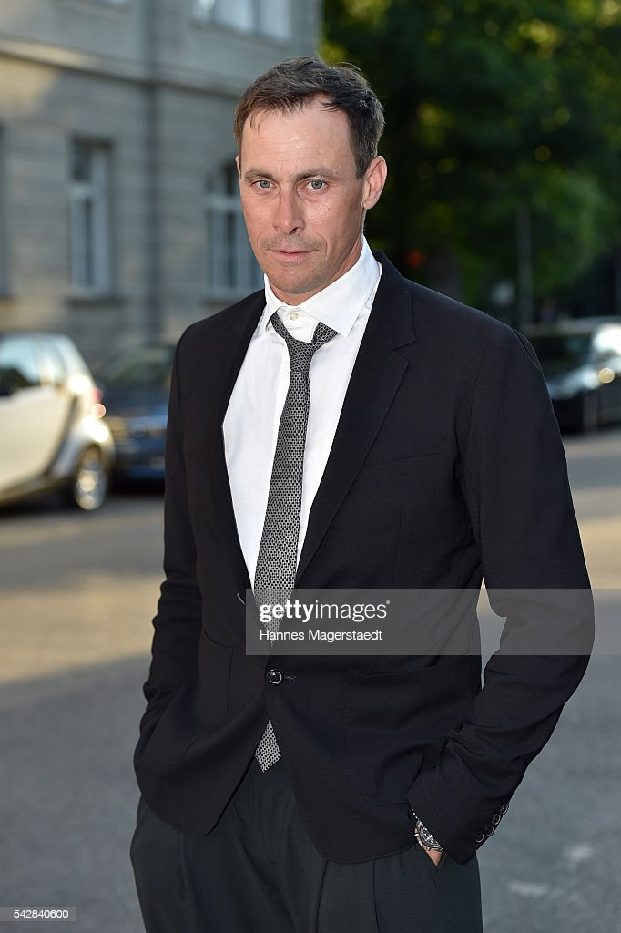 Marc Hosemann during the ARD Degeto Get Together during the Munich Film Festival 2016 at Kaisergarten on June 24, 2016 in Munich, Germany.