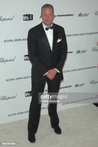 Marc Hruschka attends 17th Annual Elton John AIDS Foundation Oscar Party at Pacific Design Center on February 22 2009 in West Hollywood California
