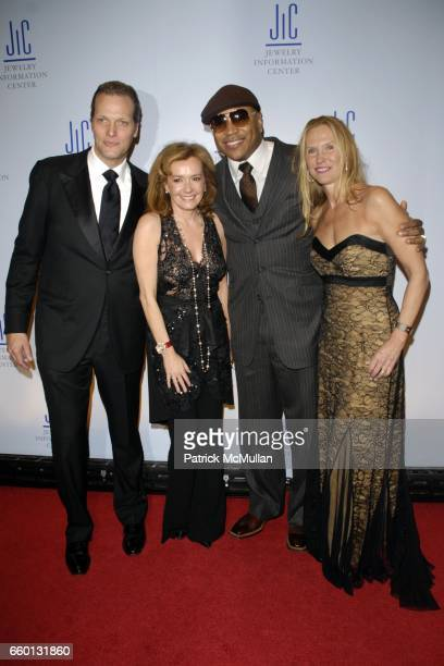 Marc Hruschka Caroline GruosiScheufele LL Cool J and Susan Duffy attend JEWELRY INFORMATION CENTER'S 7th Annual GEM AWARDS Honoring RUSSELL SIMMONS...