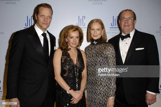 Marc Hruschka Caroline GruosiScheufele Nancy Robey Ron Frasch attend JEWELRY INFORMATION CENTER'S 7th Annual GEM AWARDS Honoring RUSSELL SIMMONS...