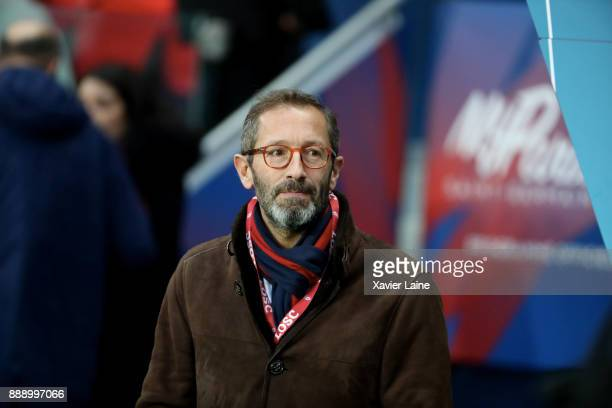 Marc Ingla of Lille OSC attends the Ligue 1 match between Paris Saint Germain and Lille OSC at Parc des Princes on December 9 2017 in Paris