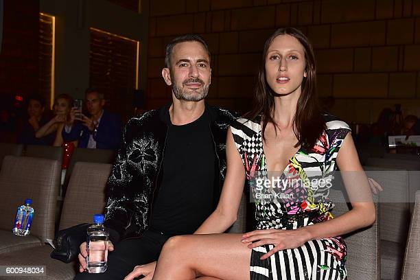 Marc Jacobs and Anna Cleveland attend the FIJI Water at The Daily Front Row's 4th Annual Fashion Media Awards at Park Hyatt New York on September 8...