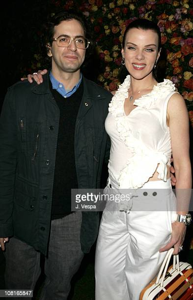 Marc Jacobs and Debi Mazar during Marc Jacobs Celebrates the Opening of Three Los Angeles Stores Red Carpet at Marc Jacobs Boutique in Los Angeles...