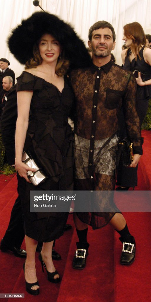 Marc Jacobs and guest attend 'Schiaparelli And Prada: Impossible Conversations' Costume Institute Gala on May 7, 2012 at the Metropolitan Museum of Art in New York City.