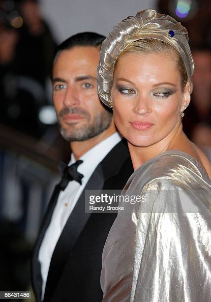 Marc Jacobs and Kate Moss attends 'The Model as Muse Embodying Fashion' Costume Institute Gala at The Metropolitan Museum of Art on May 4 2009 in New...