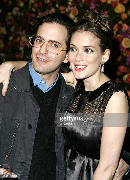 Marc Jacobs and Winona Ryder during Marc Jacobs Celebrates the Opening of Three Los Angeles Stores Red Carpet at Marc Jacobs Boutique in Los Angeles...