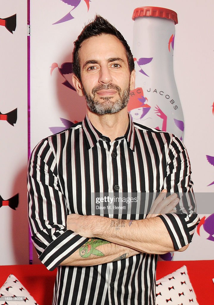 <a gi-track='captionPersonalityLinkClicked' href=/galleries/search?phrase=Marc+Jacobs+-+Fashion+Designer&family=editorial&specificpeople=4190324 ng-click='$event.stopPropagation()'>Marc Jacobs</a> attends a party celebrating 30 years of Diet Coke and announcing his new role as Creative Director for Diet Coke in 2013 at the German Gymnasium Kings Cross on March 11, 2013 in London, England.